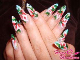 Восточная мудрость в китайской росписи ногтей