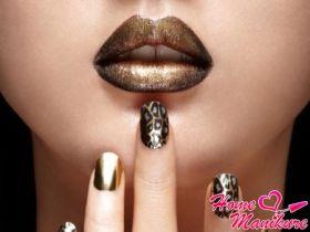 Как рисовать леопардовый принт на ногтях?