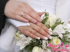 Правила выбора свадебного маникюра