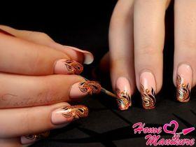 Красивые рисунки и шедевры нейл-арта на ногтях
