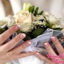 Идеальный маникюр невесты с короткими ноготками