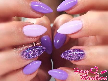 дизайн в фиолетовых тонах