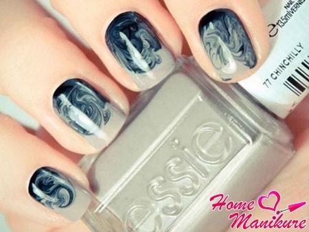 Мраморный маникюр – супер модный дизайн: как делать мрамор на ногтях (фото и видео)
