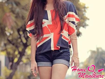 футболка с флагом Великобритании