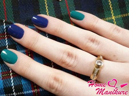 идея дизайна ногтей в стиле фен-шуй