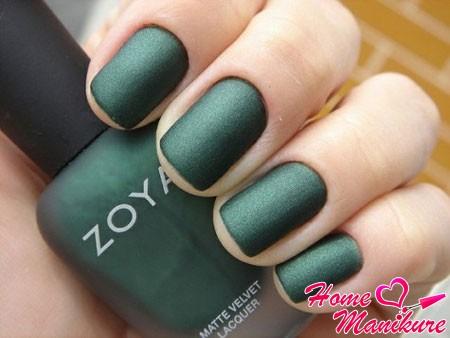 матовый лак для ногтей Zoya