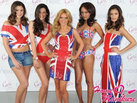 модная коллекция одежды в британском стиле