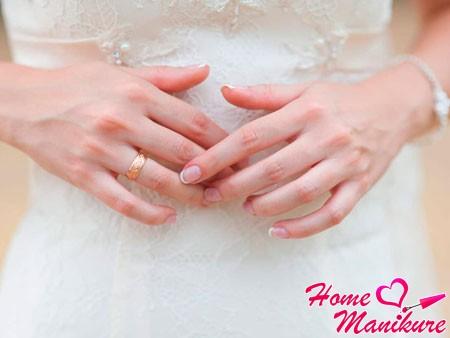 Лучшие идеи свадебного френча