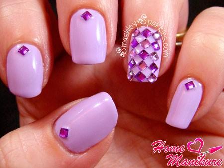 нежный фиолетовый дизайн
