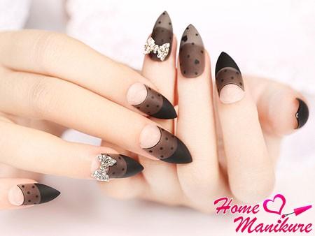 роскошный дизайн матовых ногтей