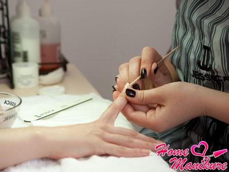 действенный способ выпрямления ногтей