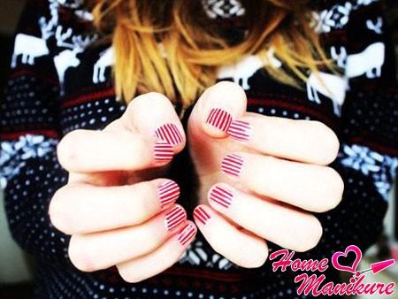 дизайн ногтей в стиле карамелек