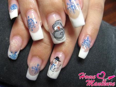 Простой дизайн ногтей гель лаком