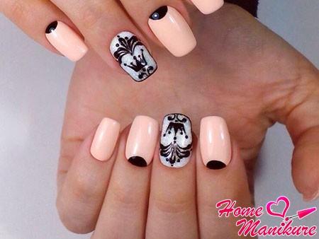 королевский дизайн ногтей