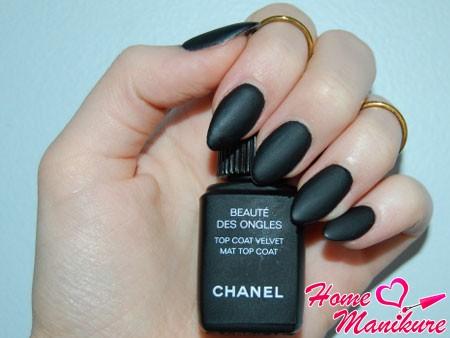 матирующее топовое покрытие от Chanel