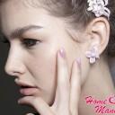 Маникюр Chanel: дизайн ногтей с рисунком Шанель