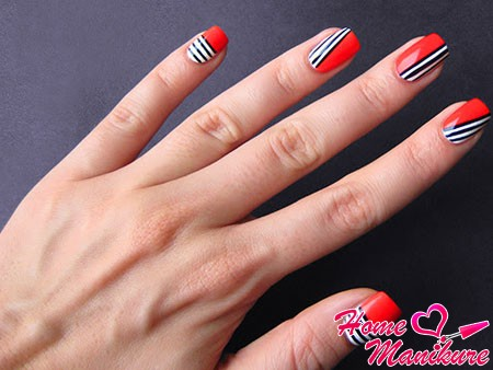 модный нейл-арт для маленьких ногтей