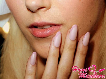 soft matte french manicure 2014