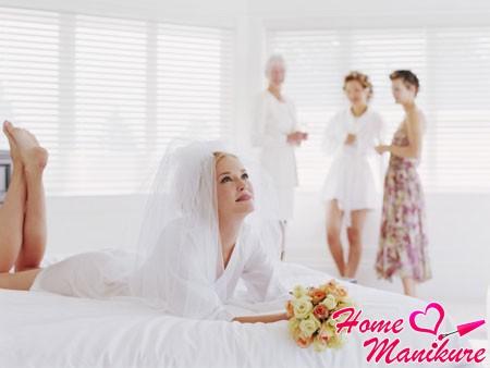 подготовка невесты в салоне красоты