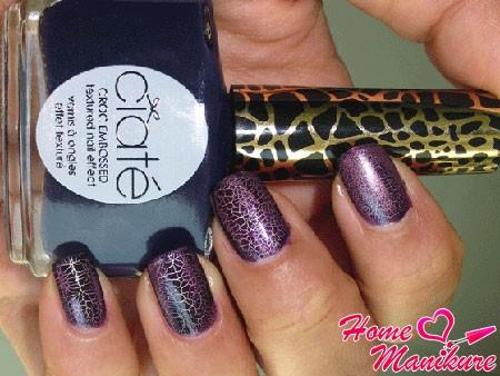 стильный дизайн ногтей с лаком Ciate