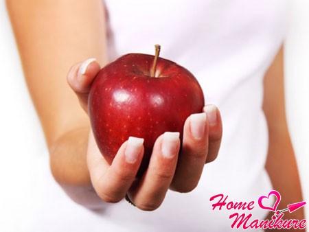 источник витамина B для ногтей
