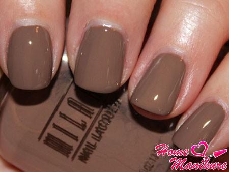 камелопардовый цвет ногтей