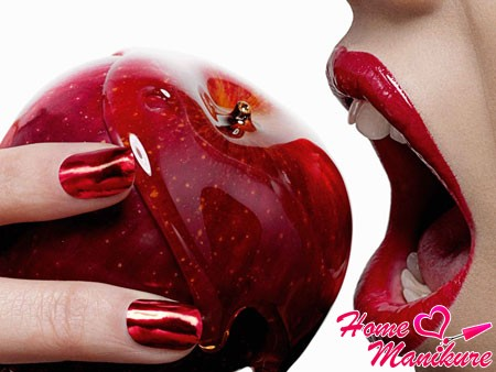Красные ногти – смелое воплощение страсти