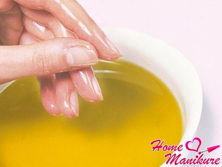 масляная ванночка для ногтей