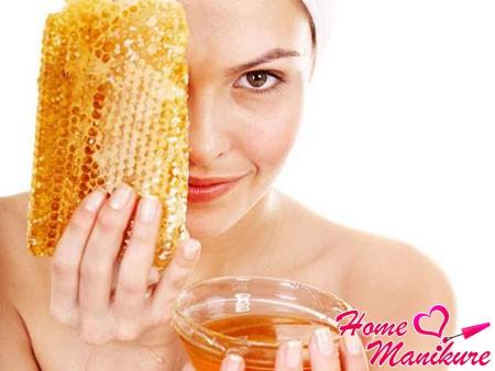 ванночка для ногтей на основе пчелиного воска