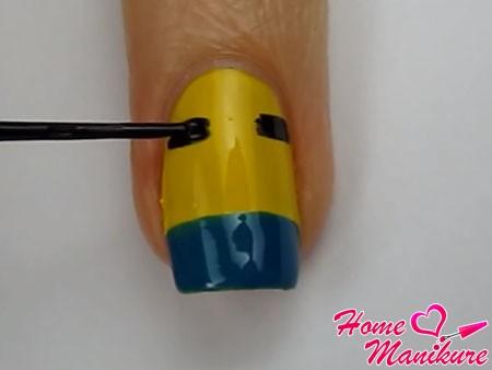 Маникюр Миньоны на ногтях: фото и видео веселого дизайна