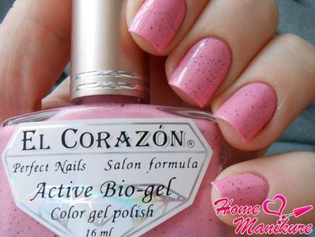 биогель-лак для ногтей El Corazon
