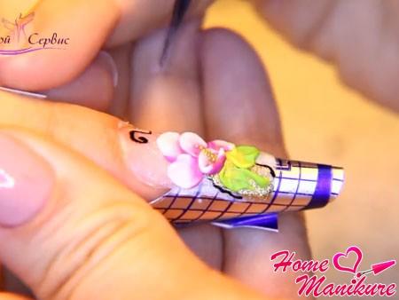 декоративная лепка для аквариумного дизайна ногтей