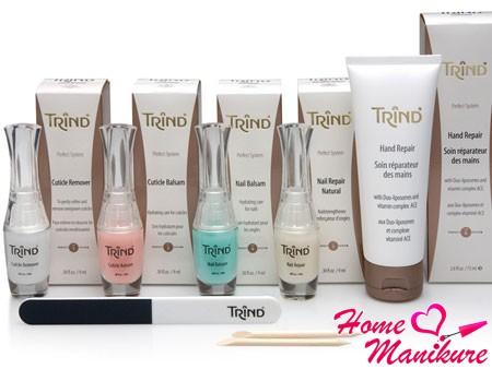 косметические средства Trind для ногтей