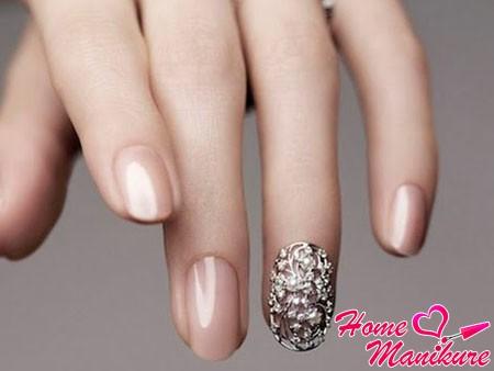 красивые небольшие нарощенные ногти