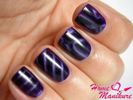 разные узоры на ногтях магнитным лаком