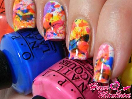 шикарная палитра ярких цветов лаков OPI