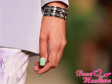 идеальный дизайн ногтей для моря