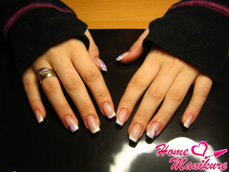 square shape nails