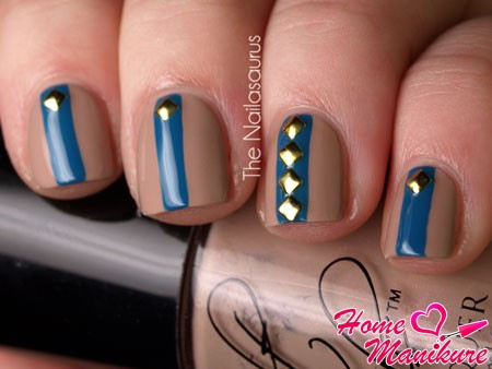 fashionable design square nails