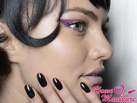 ногти в тон цвету волос