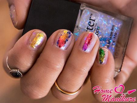 новый дизайн натуральных ногтей от стилистов
