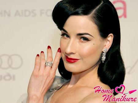 Природная красота овальных ногтей