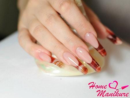 роскошный дизайн ногтей Пайп