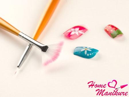 Схемы росписи ногтей