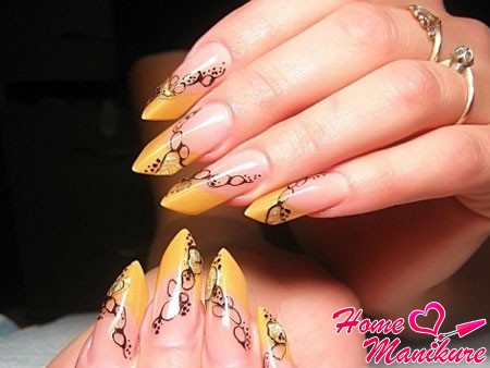 Stylish shaped nails Age