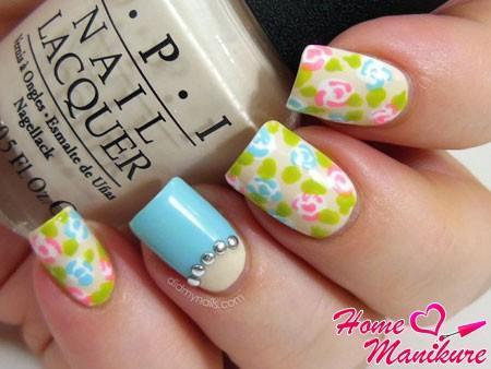 элегантный дизайн ногтей на лето 2014