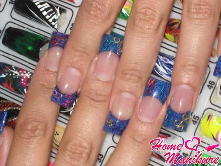 интересные типсы для ногтей с готовым дизайном