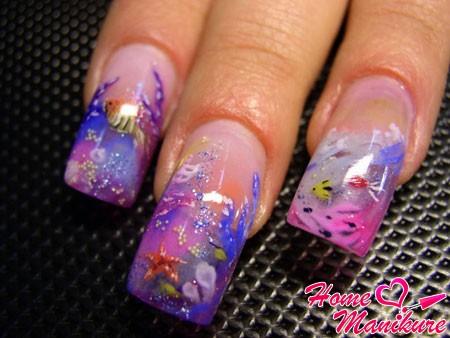 Секреты аквариумного наращивания ногтей