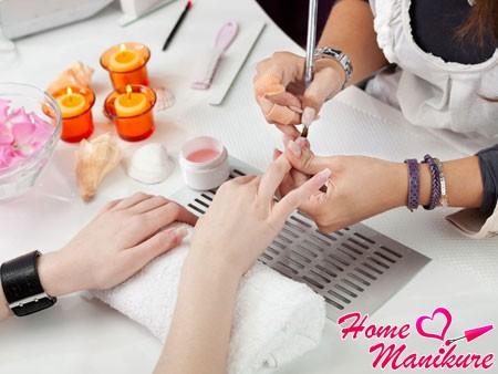 наращивание ногтей у мастера на дому