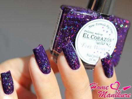 лак для ногтей EL Corazon Fireworks